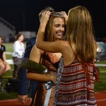 Senior Kirby Motsinger is named First Attendant for Homecoming Queen. Photo by Aislinn Menke