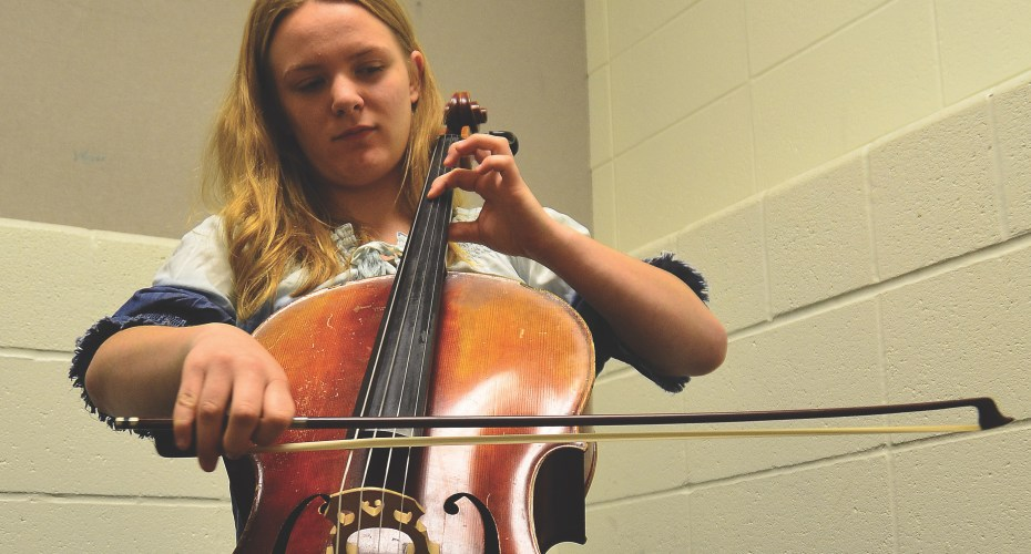 Dedication to Cello Brings Student Purpose and Deep Connection