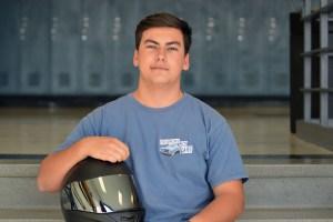 Junior Alex Holladay Loves Motorcycles