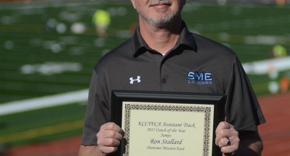 Jumps Coach of the Year Award given to East's Ronald Stallard