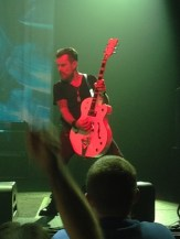 Billy Duffy and his Gretsch White Falcon