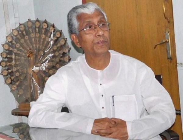 Manik Sarkar, Tripura Chief Minister