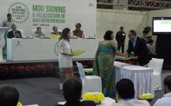 State government inks 38 MoUs worth Rs 4400.89 cr during 'GRAM 2016'