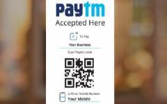 Paytm's QR code