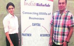 Co-founders Bhavin Bhagat and Haripriya Bhagat
