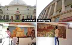 LEDs to light up Parliament; Central Hall cleaned, re-carpeted ahead of GST launch