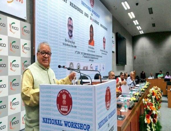 "GST & DigitalMSME can together drive growth of ""New India"": Kalraj Mishra"