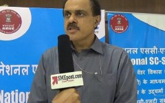 Arun Kumar Panda at National SC-ST Hub Conclave