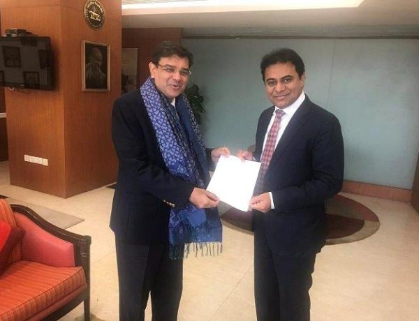 KTR submits MSMEs-focused memo to RBI Governor seeking financial leverage