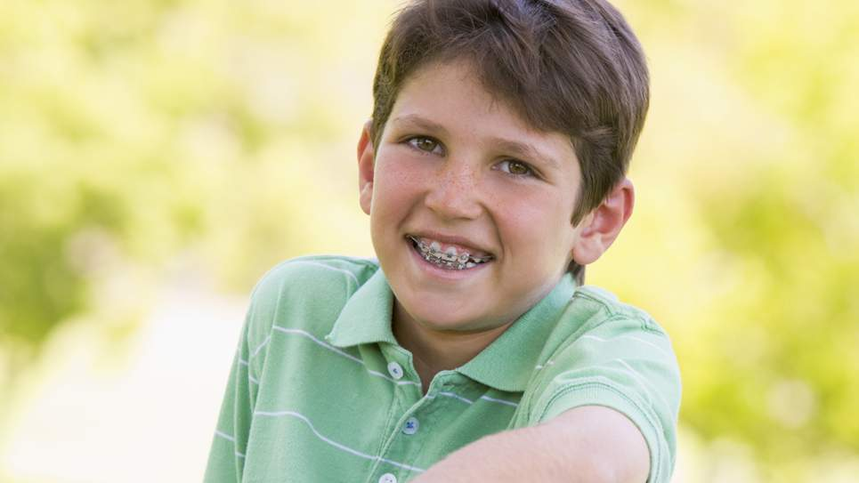 Braces on Madison TN orthodontic patient