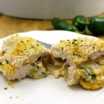Skinny Jalapeño Popper Stuffed Chicken