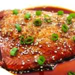 Honey Sriracha Glazed Salmon