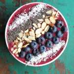 "Blueberry ""Green"" Smoothie Bowl"