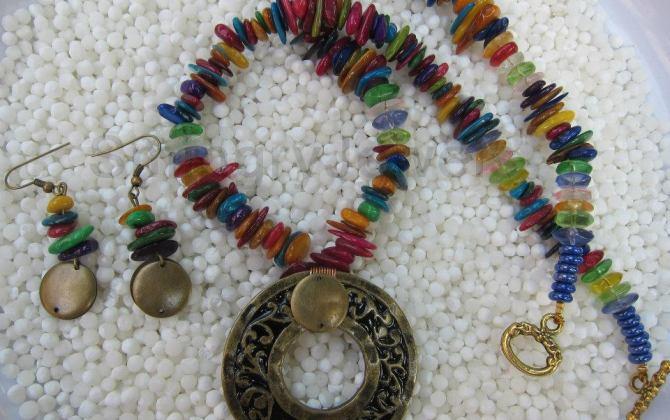 Chip-Multicolor-Neck-Set-Ec-14-Smingry-Jewels