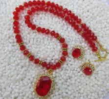 Red-crystal-Necklace-Set-EC-12