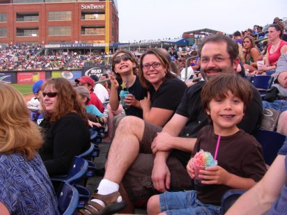 SSA outing to a Durham Bulls game, 2008