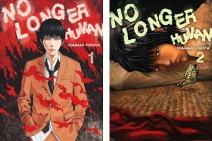 No Longer Human (vols. 1-2) by Usamaru Furuya, based on the novel by Osamu Dazai, translated by Allison Markin Powell