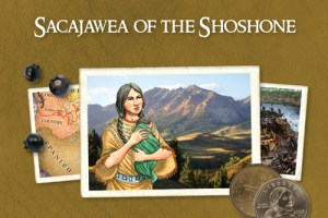 The Thinking Girl's Treasury of Real Princesses | Sacajawea of the Shoshone by Natasha Yim, illustrated by Albert Nguyen