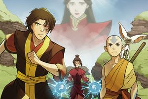 Avatar: The Last Airbender | The Search (Part One) created by Bryan Konietzko and Michael Dante DiMartino, script by Gene Luen Yang, art by Gurihiru, lettering by Michael Heisler