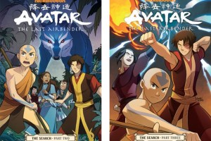 Avatar: The Last Airbender | The Search (Parts Two and Three) created by Bryan Konietzko and Michael Dante DiMartino, script by Gene Luen Yang, art by Gurihiru, lettering by Michael Heisler