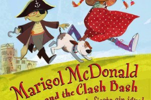 Marisol McDonald and the Clash Bash | Marisol McDonald y la fiesta sin igual by Monica Brown, illustrated by Sara Palacios, Spanish translation by Adriana Domínguez