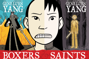 Boxers & Saints by Gene Luen Yang, color by Lark Pien