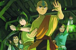 Avatar: The Last Airbender | The Rift (Part Two) created by Bryan Konietzko and Michael Dante DiMartino, script by Gene Luen Yang, art by Gurihiru, lettering by Michael Heisler