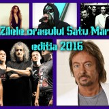 Zilele orasului Satu Mare 2016. Vedeti artistii si formatiile care vor concerta