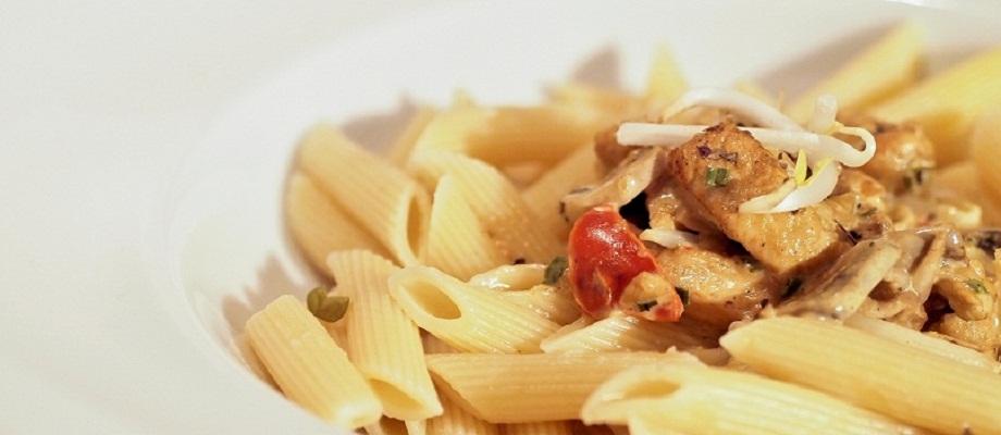 Exotic Pasta für die Mittagpause