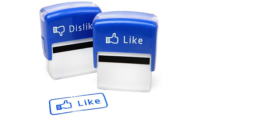 Like/Dislike Stempel Set