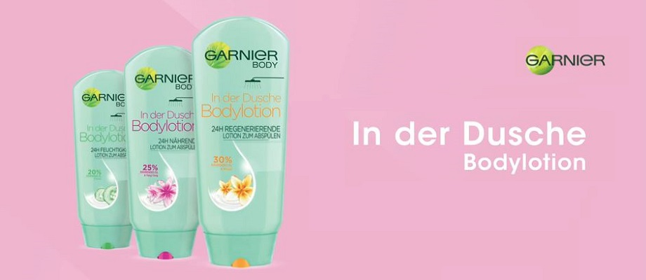 Garnier In der Dusche Bodylotion