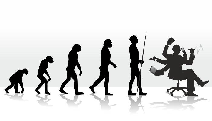Infografik: Die Evolution des Social Web