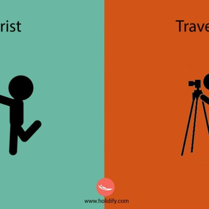 Unterschied-Tourist-Reisender (9)