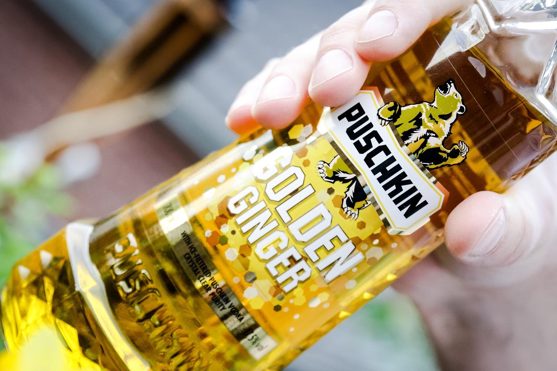 Puschkin Golden Ginger – Erfrischungsgetränk im Frühjahr 2016