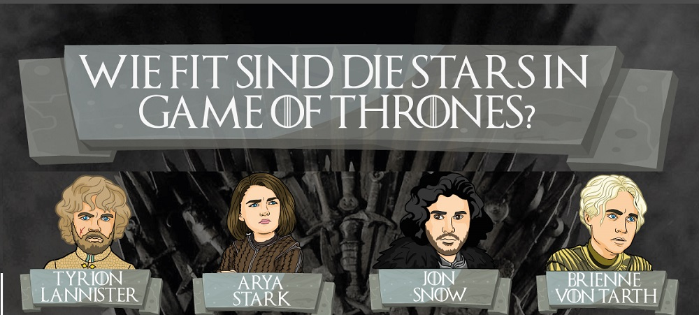 Wie fit sind die Stars aus Game of Thrones?