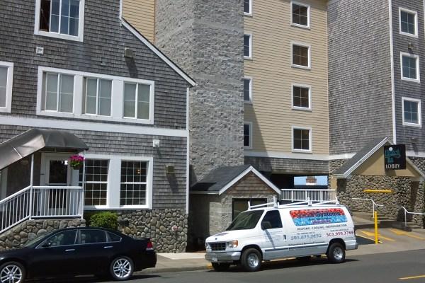 exterior hotel restoration