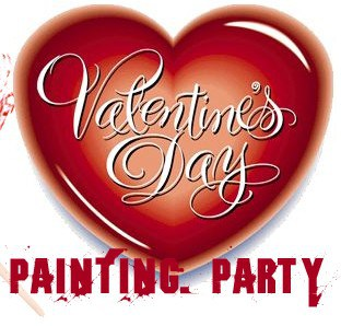 Valentines Day Painting Party