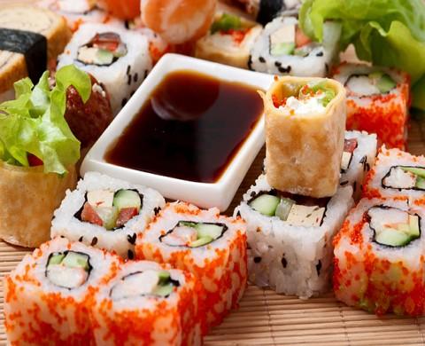 Заказ блюд японской кухни на дом