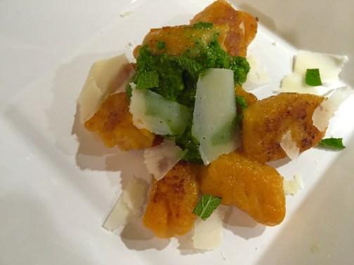 Gnocchi Süßkartoffel Pesto