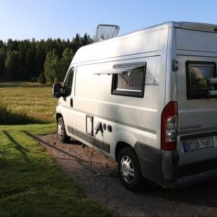 Campingplatz Womo Tiveden