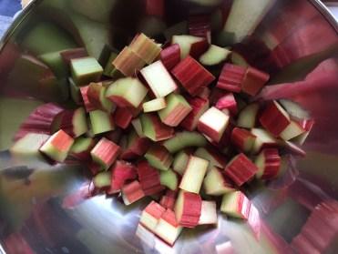 Rhabarbermarmelade Zubereitung und Rezept