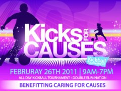 Kicks For Causes Charity Kickball Tournament