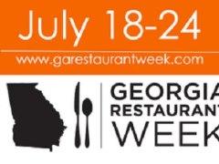 Georgia Restaurant Week 2016
