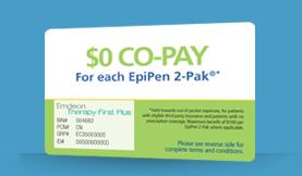 Epipen Co-Pay Card