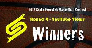 2013 Snake Freestyle Basketball Contest Round 4 - YouTu Winners