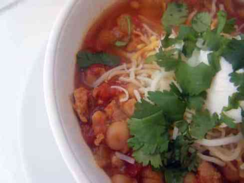 Mexican Style Chicken Chili