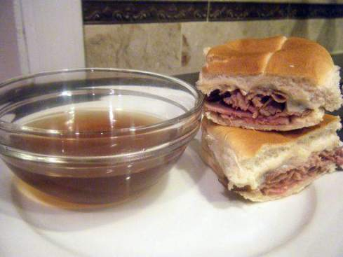 Easy French Dip Sandwich Recipe | SnappyGourmet.com