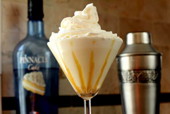 Tres Leches Caketini Cocktail Recipe | SnappyGourmet.com