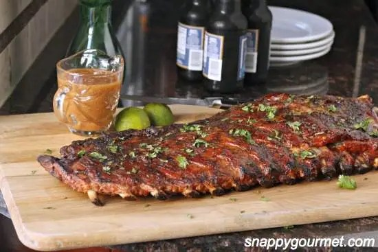 Tropical Pineapple & Honey BBQ Ribs Recipe | SnappyGourmet.com