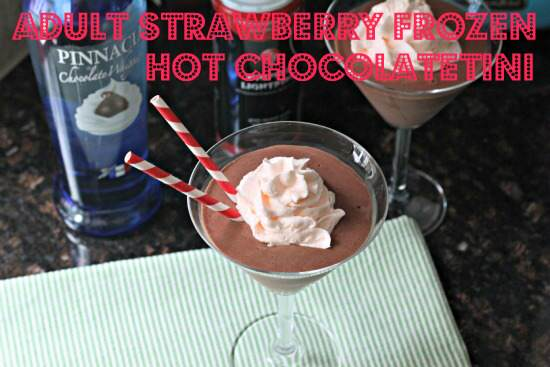 adult frozen hot chocolate